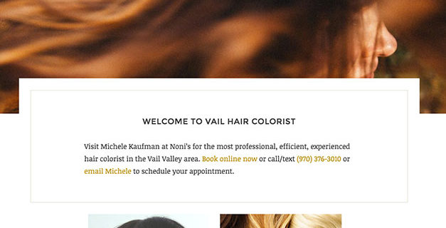 Vail Hair Colorist