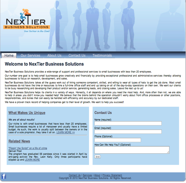 Next Tier Business Solutions
