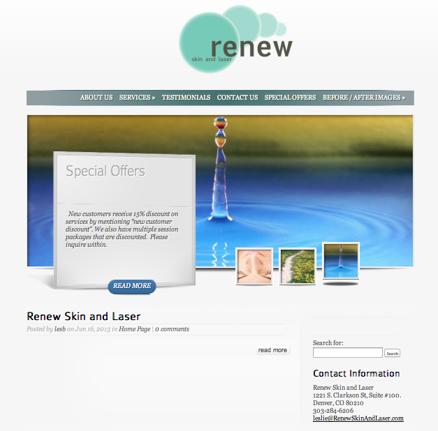 Renew Skin and Laser