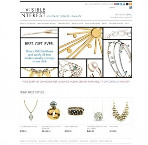 Visible Interest Modern Jewelry