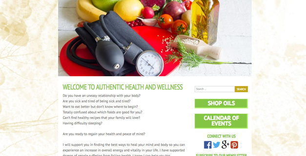 Authentic Health and Wellness